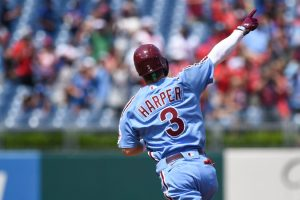 Phillies' Bryce Harper Closes In on His Second M.V.P.
