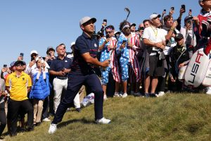 U.S. Ryder Cup Team Seizes Big Lead on a Wild Opening Day