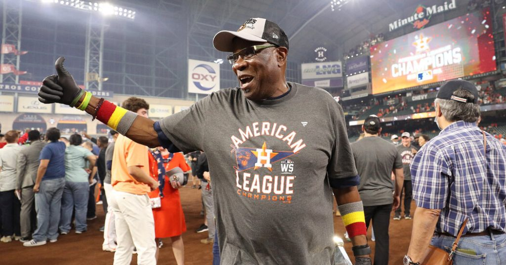 In Dusty Baker, the Astros Have a Manager Worth Rooting For