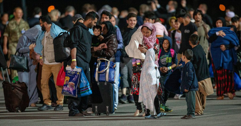 U.S. Struggles With Afghan Evacuees Weeded Out, and Now in Limbo